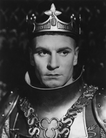 Henry V played by Lawrence Olivier